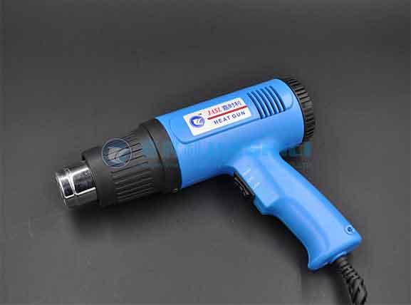 Can a Hot Air Gun Be Used As a Hair Dryer?
