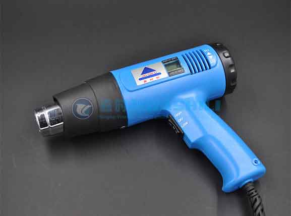 Understand the Temperature Display Function of Hot Air Gun